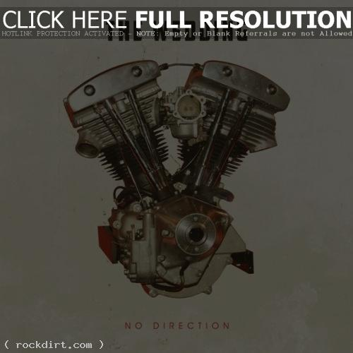 The Wedding 'No Direction' album cover