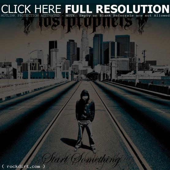 Lostprophets 'Start Something' album cover